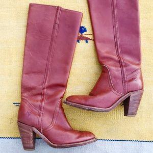 [Frye] Heeled Riding Boots Sz. 5.5